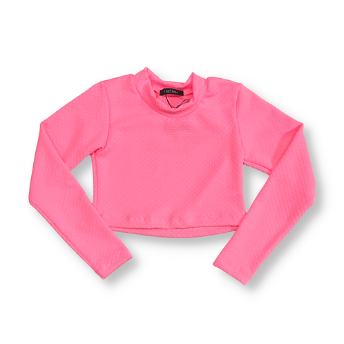 Cropped Rosa Neon Pastel