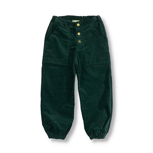 Calça de Camurça Verde