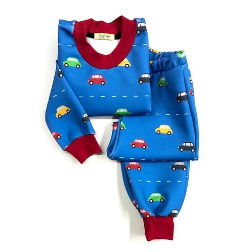Pijama de Carrinhos