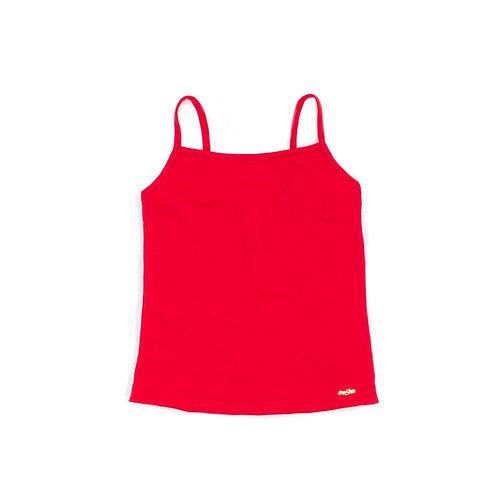 Blusinha de Alça Vermelha