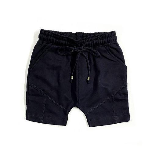 Shorts de Moletinho Preto
