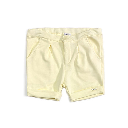 Shorts Amarelo Bebê