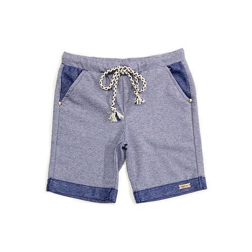 Shorts de Malha Jeans