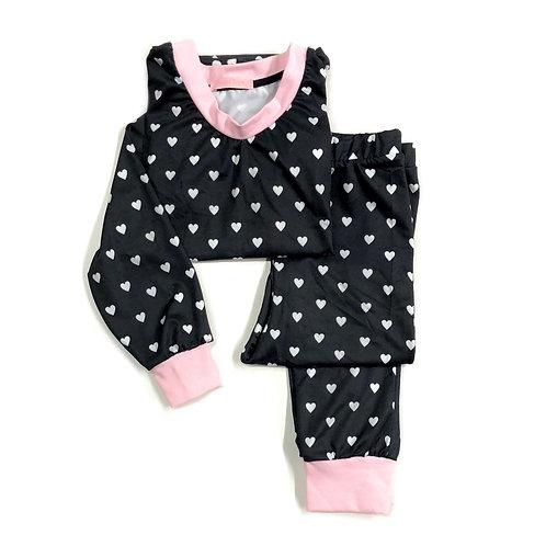 Pijama de Corações