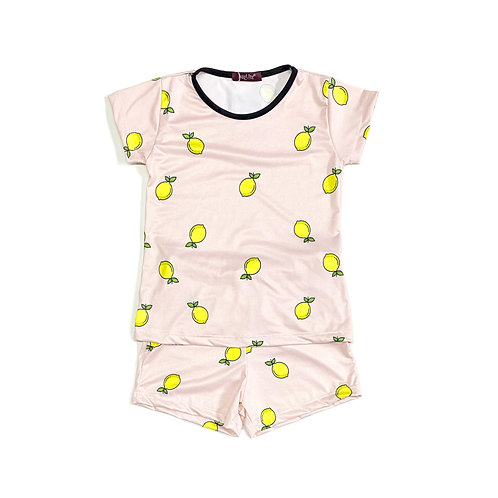 Pijama Feminino de Limão Siciliano