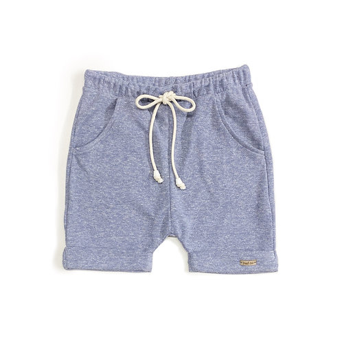 Shorts Azul Mesclado