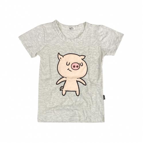 Camiseta Mescla de Porquinho