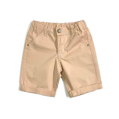 Shorts de Sarja Caramelo