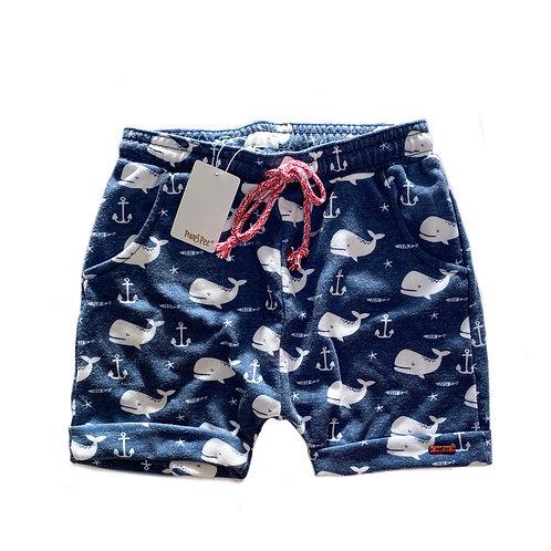 Shorts de Moletom Estampado