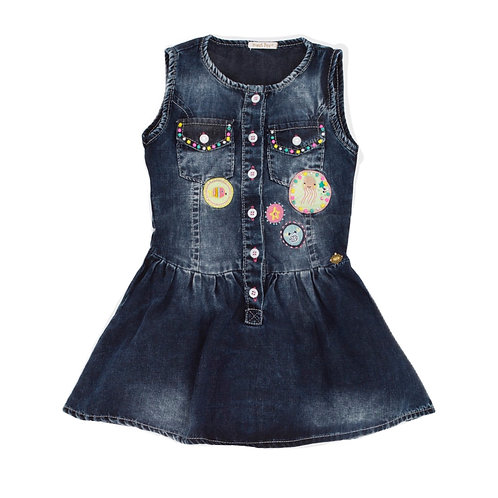 Vestido Jeans Blueblack