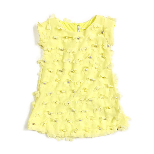 Vestido Amarelo Bebê