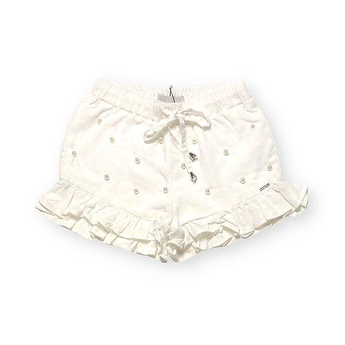 Shorts de Viscose com Pérolas