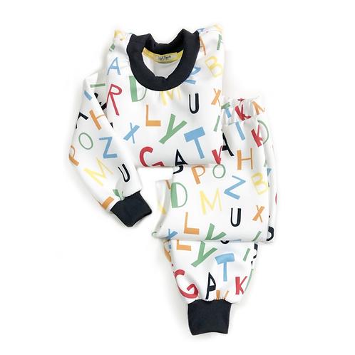 Pijama de Letrinhas