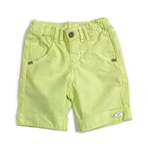 Shorts Listrado Verde