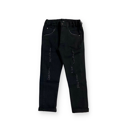 Calça Jeans Black com Rasgos