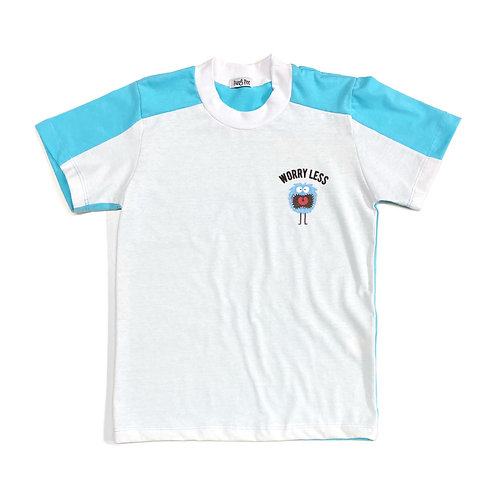 "Camiseta Bicolor ""Worry Less"""