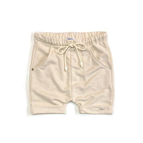 Shorts de Moletom de Linho