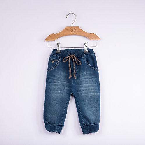 Calça de Moletom Jeans
