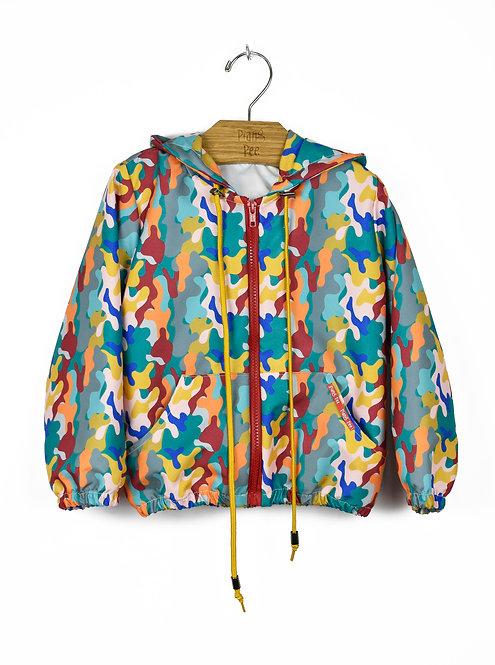 Jaqueta Camuflada Colorida