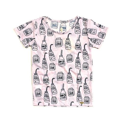 Camiseta Milk