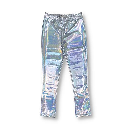 Legging Prata Holográfica