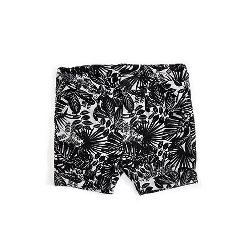 Shorts Cinza Estampado