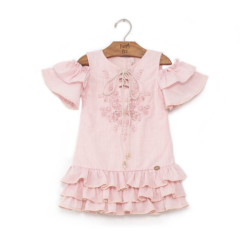 Vestido Bata Rosa
