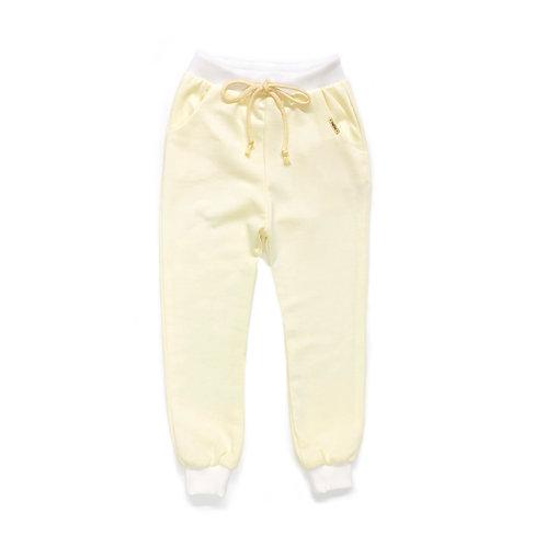Calça de Moletom Amarelo Bebê