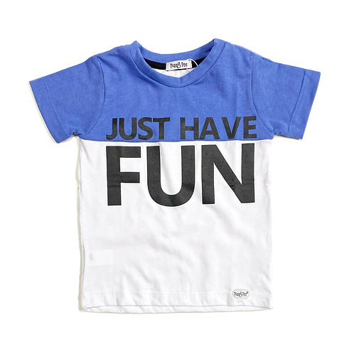 Camiseta Bicolor Have Fun