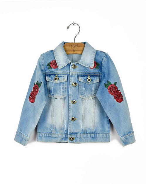 Jaqueta Jeans de Ursinho
