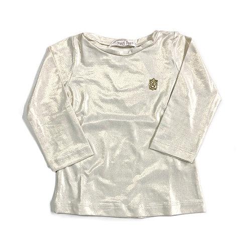 Blusinha Dourada Metalizada