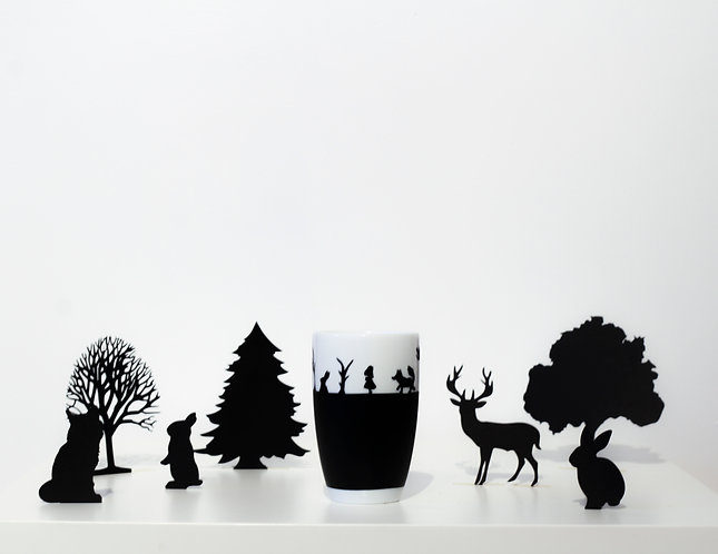 Tasse à thé - Amimaux | Panoramas