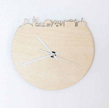 """Horloge en bois et ardoise - Montréal """"Lily"""""""