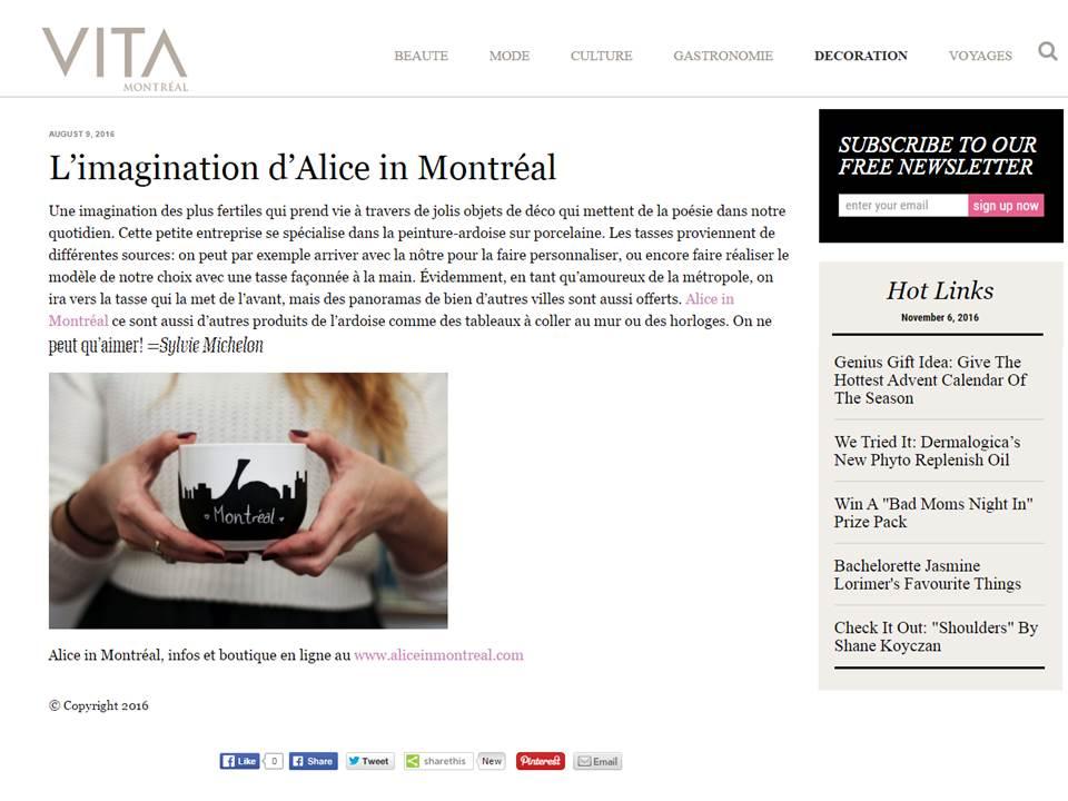 VITA Montreal august 9th 2016