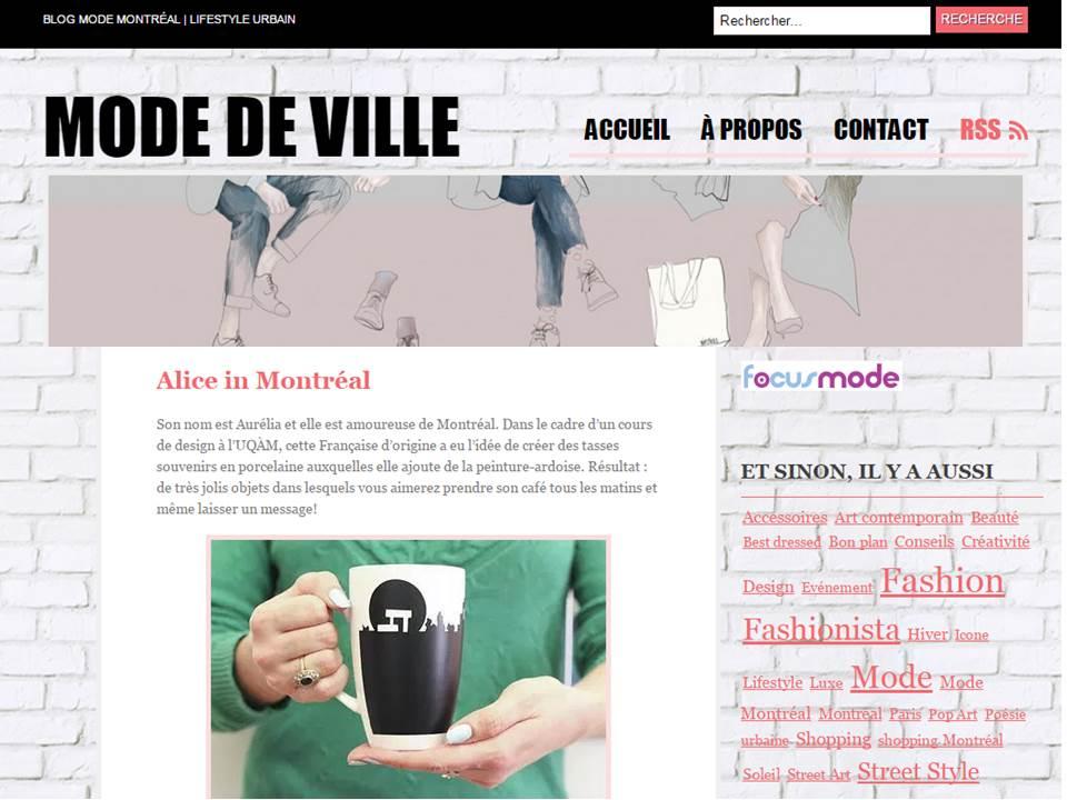 Le Blog Mode de Ville