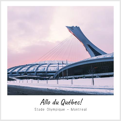 Carte Postale Stade Olympique
