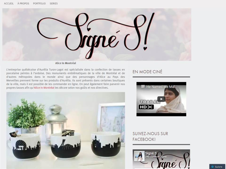 Blog Signé S