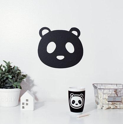 Adhésif ardoise Panda mural repositionnable vinyle