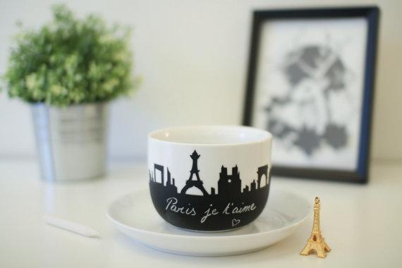 """Paris large """"Nicolas"""" Tour Eiffel - Notre Dame"""