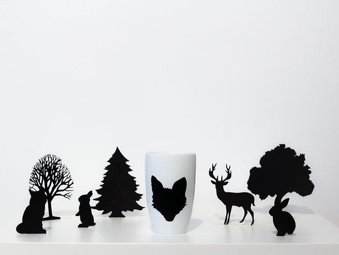 Tasse à thé - Animaux | Renard