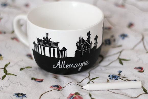 """Allemagne large """"Helga"""" - Berlin, Cologne..."""