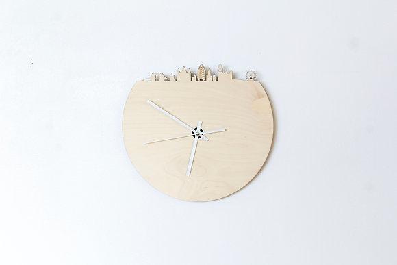 Horloge en bois et ardoise - Londres