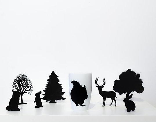 """Forêt enchantée haute """"Ecureuil"""""""
