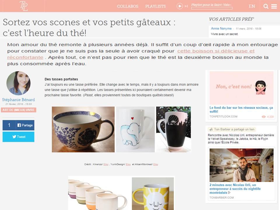 Blog Ton Petit Look