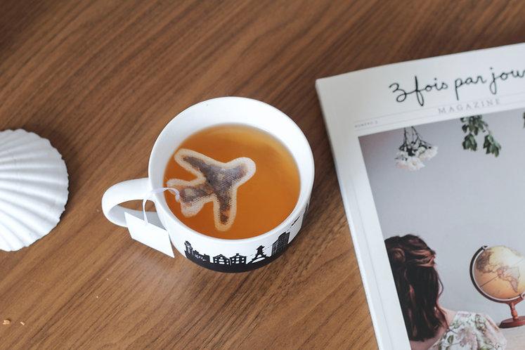"""Sachet de thé """"avion"""""""