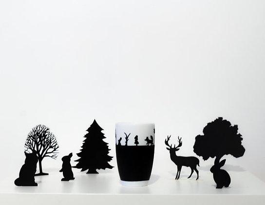 """Forêt enchantée haute """"Panorama"""""""