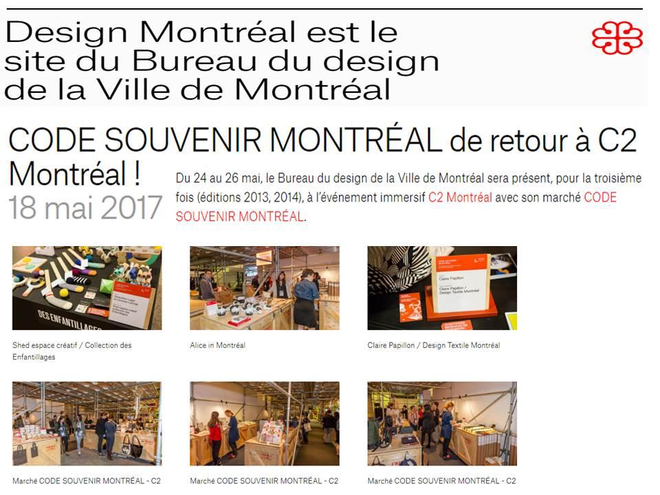 C2 Montréal - mai 2017