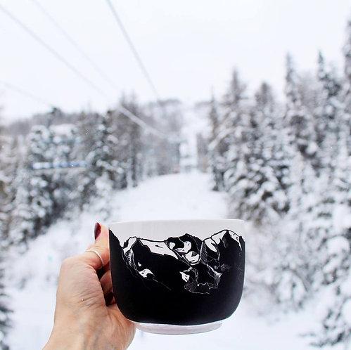 Tasse à latte - Montagnes