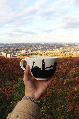 Tasse à latté 100% québécoise - Montréal