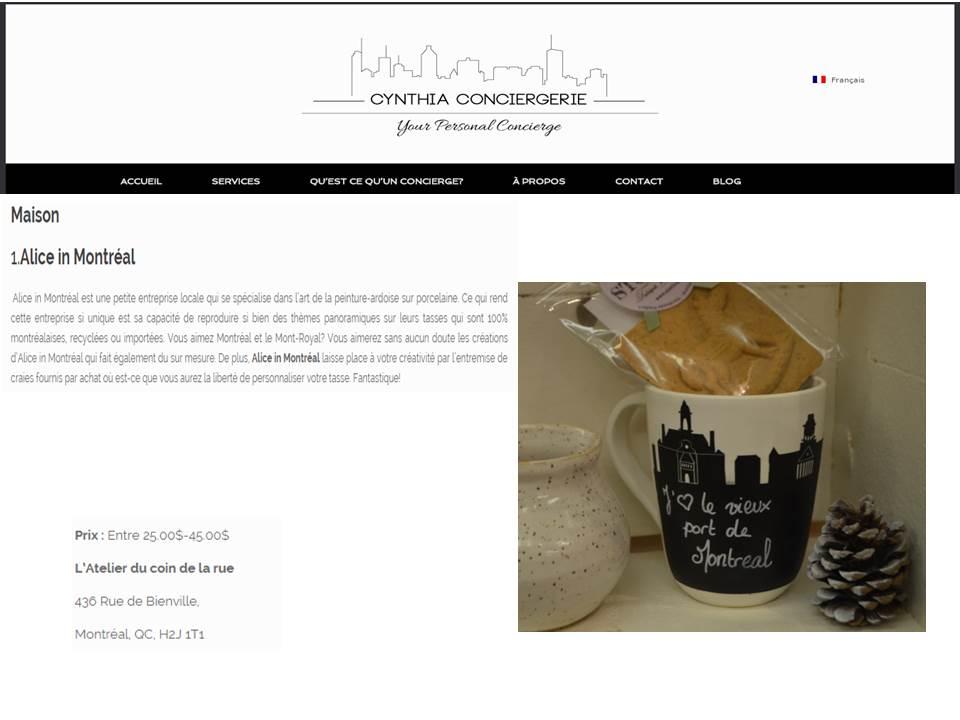 Le Blog de Cynthia Conciergerie